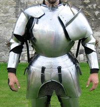 Larp Italian Cuirass Armor - Replica Half Suit Of Armour  - $899.00