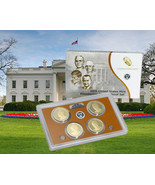 2015 S U.S. Mint President 4 coin Proof set with original mint packaging... - $52.45