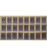 Hoop Earrings Qty 24 Sterling Silver Rhinestones - $34.20