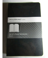 Moleskine Volant Notebook (Set of 2), Extra Small, Ruled, Black, Soft Co... - $12.86