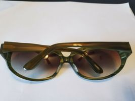 Oliver Peoples sunglasses 63-17-120 La Donna JA Green 8770..BRAND NEW AUTHENTIC image 5