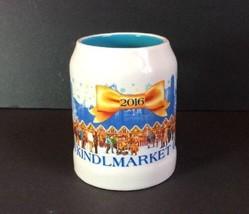 Chicago 2016 Christkindlmarket Ceramic Mug Cup Wine Cocoa Nutcracker Ang... - $9.58