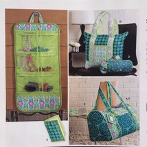 Simplicity Sewing Pattern 2600 Accessories Travel Bags New - $16.40