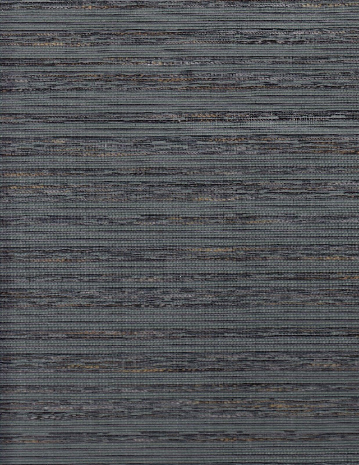 10.75 yds Mid Century Modern Upholstery Fabric Ad Men Tweed Stripe Lake Blue EY