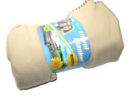 NEW SUPEREX TRAVEL BLANKET W/ CARRYING BAG 27-130 - $9.90