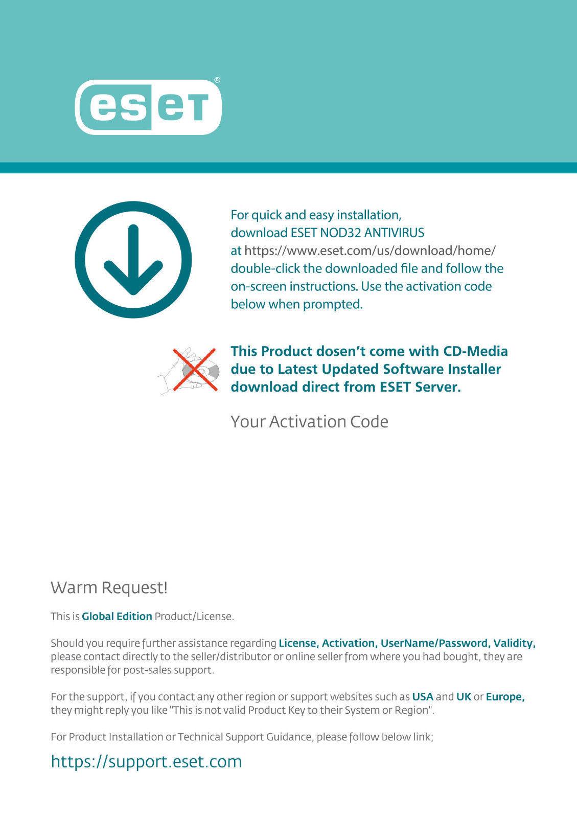 eset nod32 antivirus 7 license key 2018