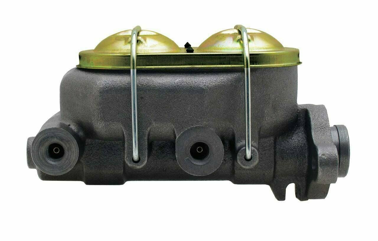 "4 Port Bail Top Cast Iron Master Cylinder w/ 1"" Bore GM Street Rod Universal"