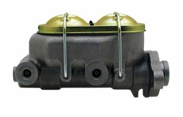 "4 Port Bail Top Cast Iron Master Cylinder w/ 1"" Bore GM Street Rod Universal image 1"