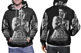 Winchester Brothers Supernatural Deans Men's Fullprint Hoodie  - $44.99