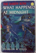 Hardy Boys What Happened at Midnight no.10 1960B-52 hcdj Franklin W. Dixon - $7.50