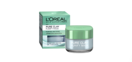 NEW L'OREAL PURE CLAY MASK-PURIFY MASK WITH EUCALYPTUS - €19,39 EUR