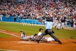 Sid Bream Braves 1992 NLCS Slide E Vintage 8X10 Color Baseball Memorabilia Photo - $6.99