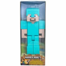 Minecraft™ Steve in Diamond Armor Large Action Figure w - $14.99