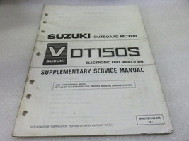 PM83 1994 Suzuki Outboard DT150S Supplementary Service Manual 99501-87D60-03E - $10.59