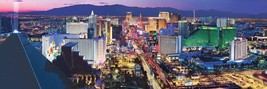Panoramic Las Vegas Nevada 1000pc Puzzle by Masterpieces Puzzles #71777 - $29.99