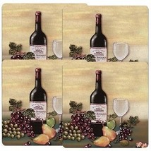 Reston Lloyd Gas Burner Covers, Set of 4, Barnyard, Wine and Vines, New - $25.99