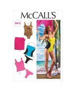 McCall Pattern Company M6759 Misses' Swimsuits and Cover-Up Sewing Templ... - $15.68