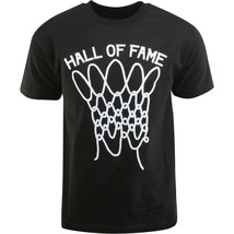 Hall Of Fame Hof Nero da Uomo Nothing But Rete Basket Colpo T-Shirt Nwt