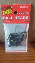 ARKIE Painted Black Ball Heads 10 Pack 1/8 oz. MPN AT-513-5 - $4.99