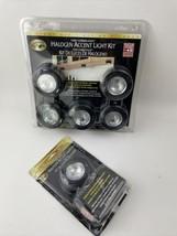 Hampton Bay 120V Combilight Halogen Accent 5-Light Kit Black 154362 NEW ... - $44.54