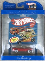 '65 Mustang HOT WHEELS 30 YEARS  Authentic Commemorative Replica  - $7.95