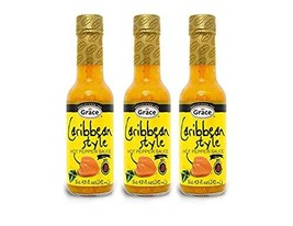 Grace Caribbean Style Hot Pepper Sauce 3 Pack, Total of 14.4fl.oz - $19.44