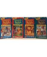 Lot Of 4 Disney Winnie the Pooh VHS - $9.50