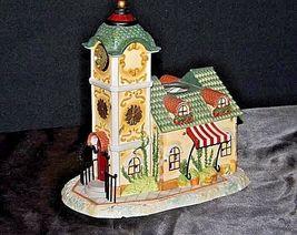 Old World Village #4The Clocktower AA18-1373 Vintage image 3