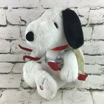 Peanuts Hallmark Cupid Snoopy Valentine Gift Plush With Sound/Motion Tested - $19.79