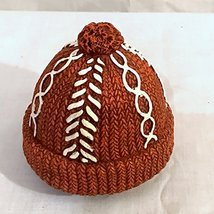 New Yankee Candle Red Woolen Hat Cap Jar Candle Topper - $39.59