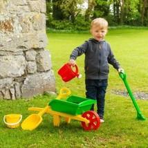Childrens Wheelbarrow & Garden Set Kids Gardening Role Play Plastic Gard... - $435,58 MXN