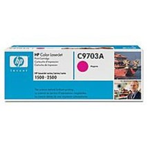 HP C9703A Toner Cartridge for Color Laserjet 1500 and 2500 Series - 4,000 Pages  - $57.80