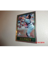 1997 Topps Chrome #9 Mike Piazza Los Angeles Dodgers HOF - $2.97