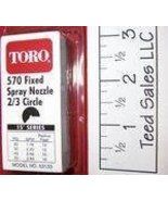 Toro Irrigation Series 570 Nozzle 2/3 circle 15 ft radius - $4.22
