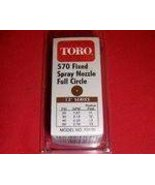 Toro Irrigation Series 570 Nozzle full circle 12 ft radius - $4.22