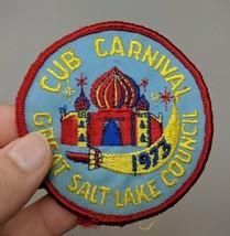 Boy Scouts 1973 Great Salt Lake City Council Cub Carnival Patch VTG 70s Utah - $37.61