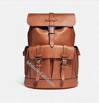 $700 NWT COACH Saddle ' Hudson ' Backpack F23202 - $315.00