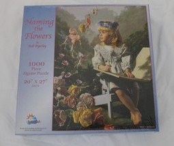 """New Sunsout Naming The Flowers Bob Byerley 1000 Pc Jigsaw Puzzle 20""""X27"""" - $9.26"""