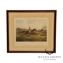 Henry Thomas Alken 'One of the Flowers of our Hunt' Vintage Framed Print - $395.00