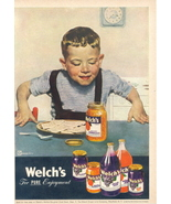 1947 Welch's Jam Marmalade Grape Juice Jelly print ad - $10.00