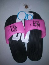 New with tags OP Ocean Pacific Slides Sandal Sz 8 Hot Pink Women's Unisex Adult  - $19.31
