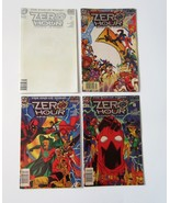 Lot of 4 Zero Hour Crisis in Time DC Comic Books - 1994 - Issues 0, 2, 3... - $14.99