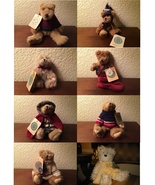 Lot of 8 RETIRED Boyds Bears - $50.00