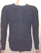 RALPH LAUREN hommes étiquette noire Tricoté à la main lin TRICOT TAILLE M - $421.49