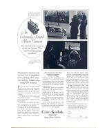 1930 Cine-Kodak Home Movie Camera vintage print ad - $10.00
