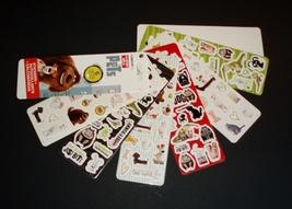 Secret Life of Pets 100 Sticker Fan Buddy, Duke Gidget, Chloe, Snowball,... - $8.00