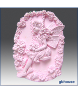 Fairy6~Anemone fairy of the Wind Silicone Mold - $28.00