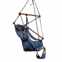 Island Retreat Nu3200 Hanging Hammock Swing Chair, Blue - $50.48
