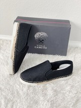 ✨New VINCE CAMUTO Tambie Slip On Sneakers Black Glitter Mesh Womens Size 9M $99 - $50.49