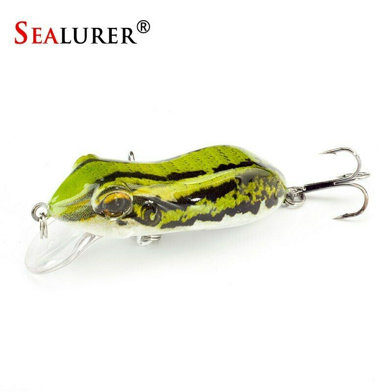 Fishing Lures Kit 100Pcs Baits Including Hooks Frog Lure Soft Plastic Worms W Ta